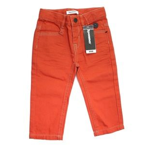 NWT 3Pommes Orange Legendary Cargo 12 mos